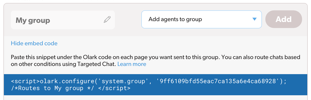 Automation - Group routing