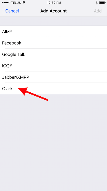 iOS Live Chat for Mobile | Olark