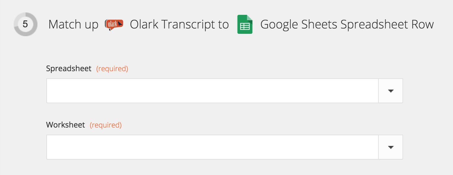 Olark Live Chat Archive Olark transcripts in a Google spreadsheet – Google Worksheet