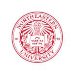 logo for Northeastern University