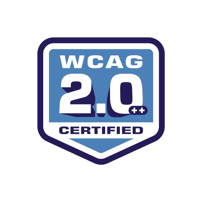 WCAG 2.0 Certification Badge image