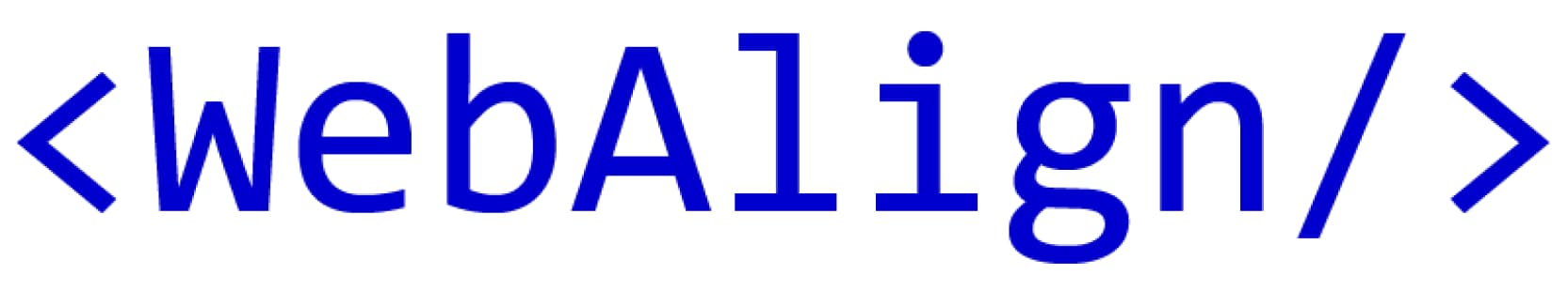 WebAlign Logo