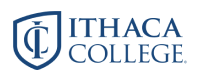 logo for Ithaca College