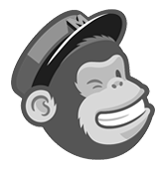 mailchimp logo in grayscale