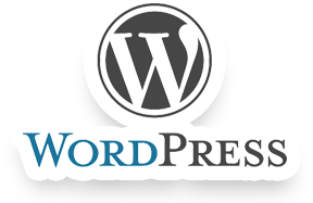 wordpress logo in color