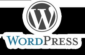 wordpress logo in color