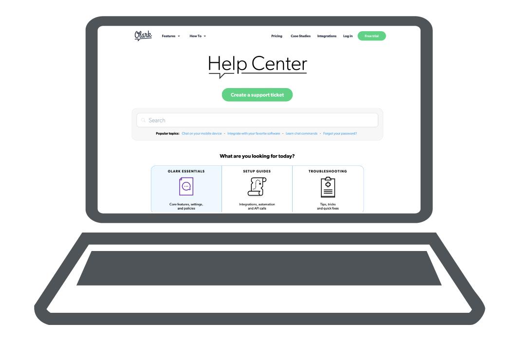 Olark Help Center