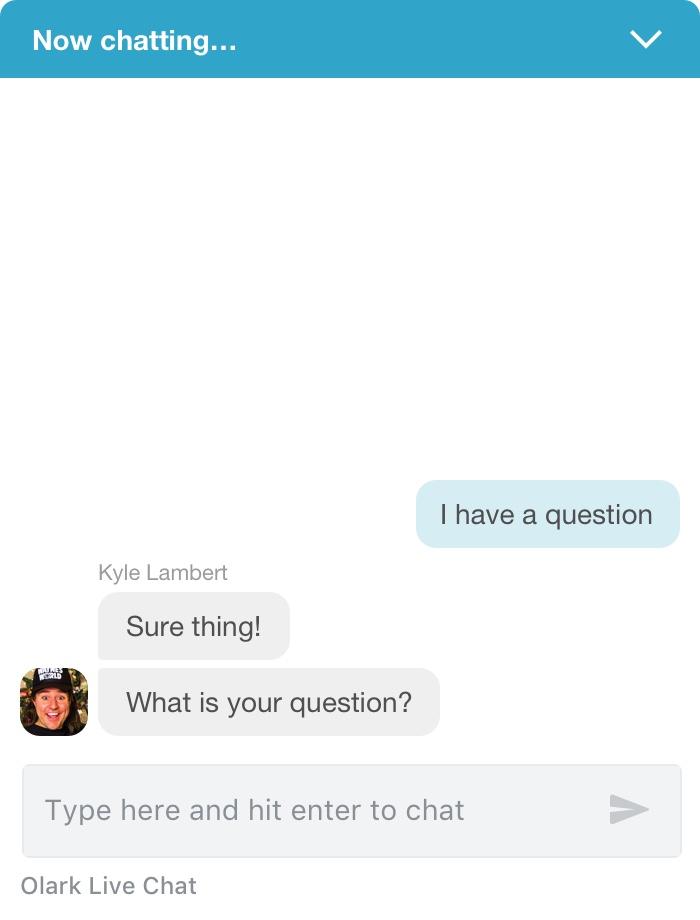 Olark Live Chat