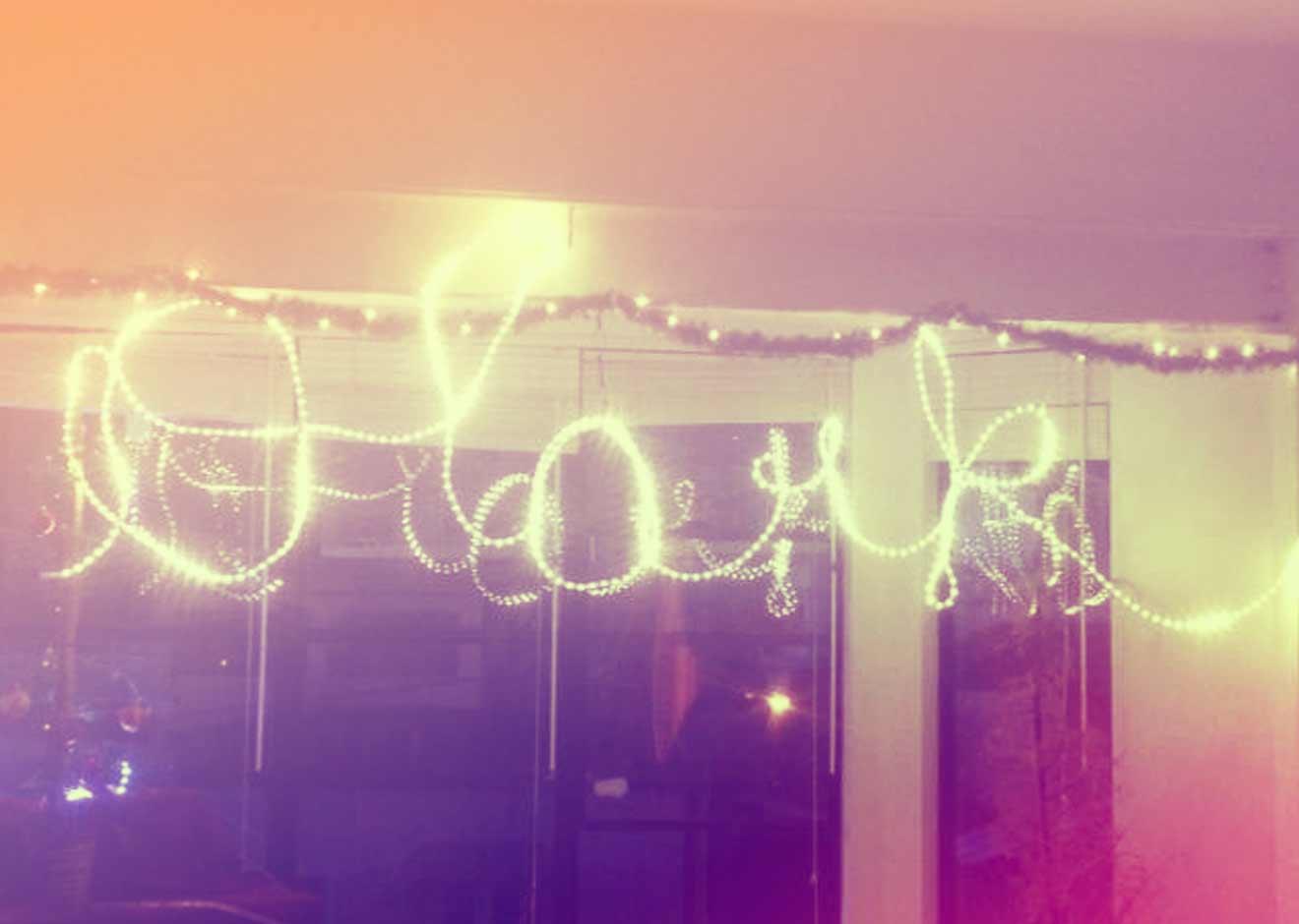 Olark written in lights